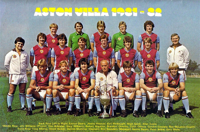 Aston villa football club the great story about great for Buro team 82